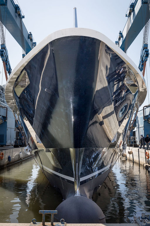 Motor yacht N2H - official launch