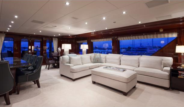 Motor yacht THREE FORKS - Skylounge