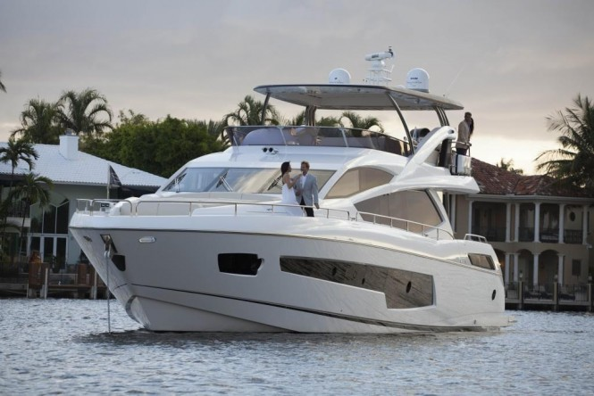 Open yacht MOWANA. Photo credit: Sunseeker