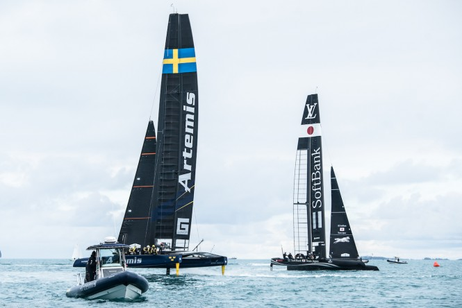 Photo credit America's Cup