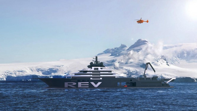Research Expedition Vessel.Photo credit VARD shipyard