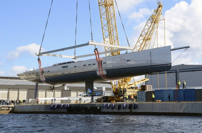 Sailing Yacht Pink Gin VI launched