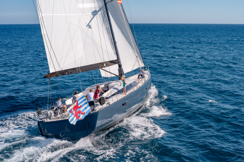 Sailing yacht J SIX - Built by CNB