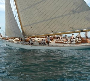 Traditional sailing yacht Moonbeam IV returns for Mediterranean charters