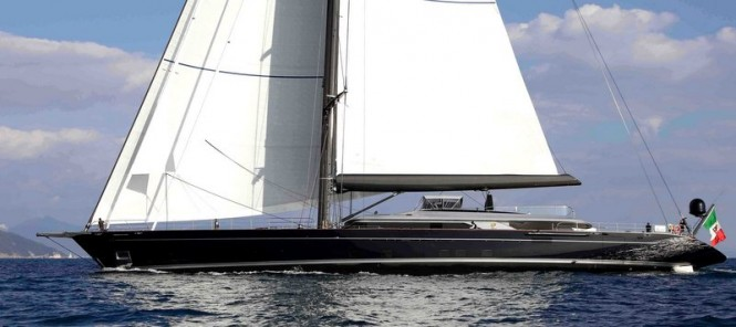 Sailing yacht PERSEUS^3. Photo credit G. Sargentini