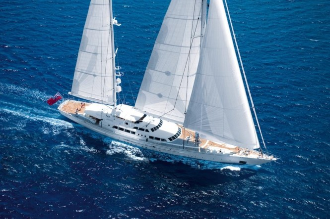 Sailing yacht SPIRIT OF THE C'S - Built by Perini Navi
