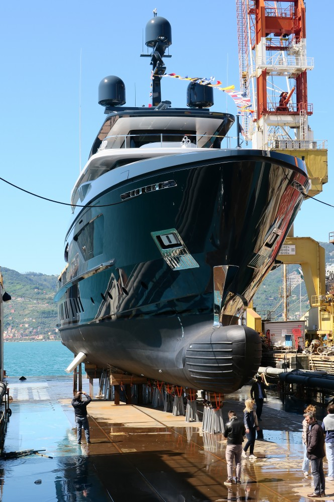 Sanlorenzo 460EXP M:Y Ocean's Four launched