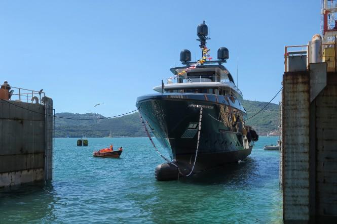 Sanlorenzo 460EXP motor yacht Ocean's Four