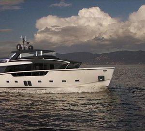 Sanlorenzo Crossover Motor Yacht SX88