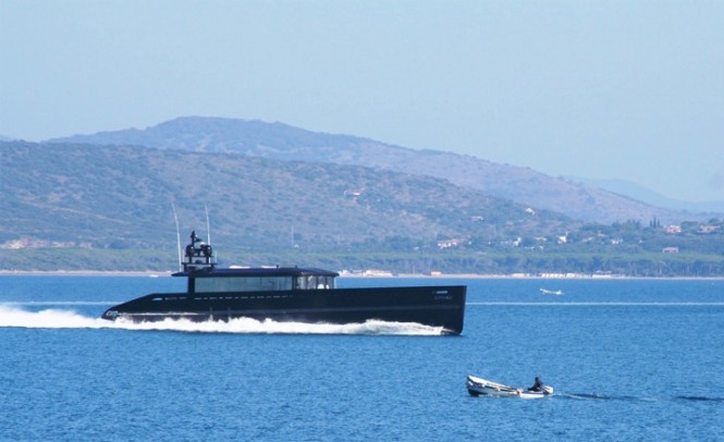Superyacht BLADE - Built by MMGI