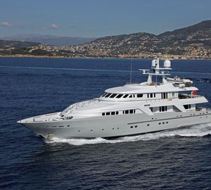 Newly refitted M/Y Deep Blue II ready for Mediterranean charter