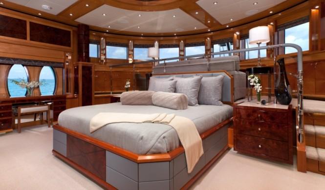 Superyacht IMPROMPTU - Master suite