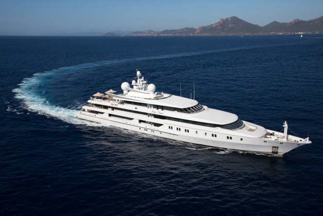 Superyacht INDIAN EMPRESS by Oceanco