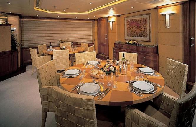 Superyacht KANALOA - Formal dining