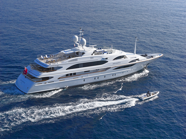 Superyacht MEAMINA - Built by Benetti
