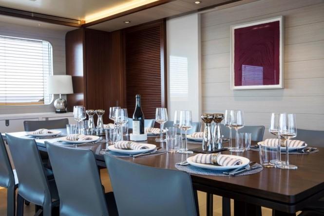 Superyacht MOKA - Formal dining