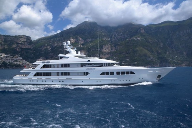 Superyacht Majestic (ex.SECRET) - Image Courtesy of Feadship