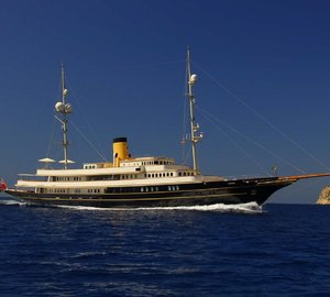 Fall in love with the South of France and the Balearic Islands on a Mediterranean charter aboard M/Y Nero