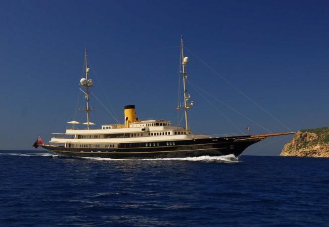 Superyacht NERO - A Corsair Yachts luxury yacht built in 2007