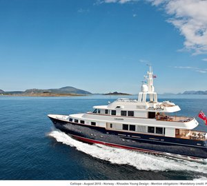 Secure award-winning superyacht Ninkasi for your Mediterranean charter