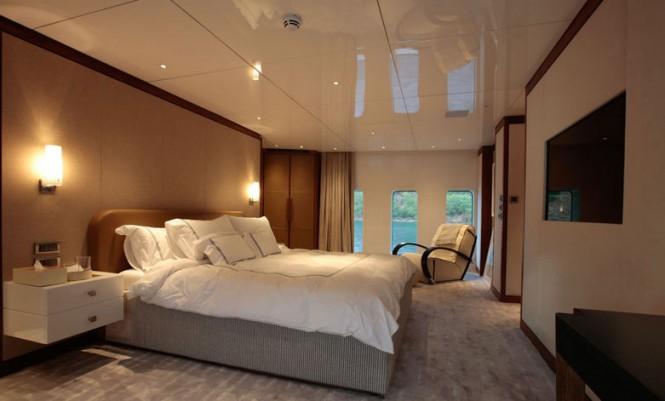 Superyacht ORIENT STAR - Master suite