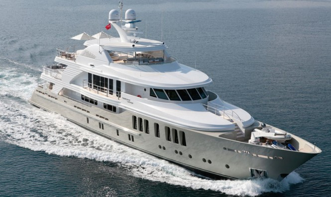 Superyacht ORIENT STAR. Photo credit CMB Yachts