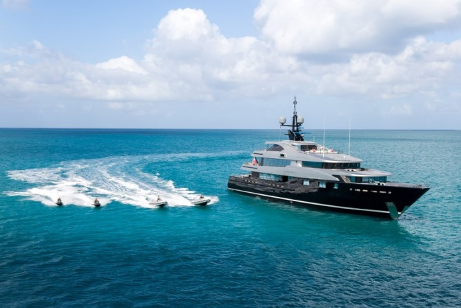 Superyacht SLIPSTREAM - Built by CMN