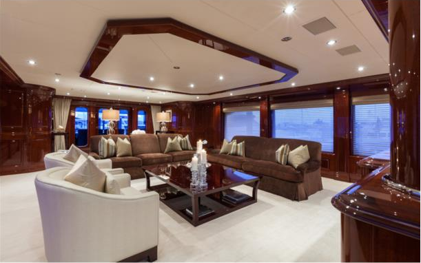 Superyacht THREE FORKS - Main salon