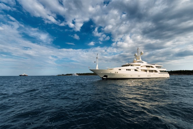 Superyacht TOMMY - Built by Benetti