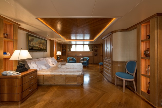 Superyacht TOMMY - Master suite