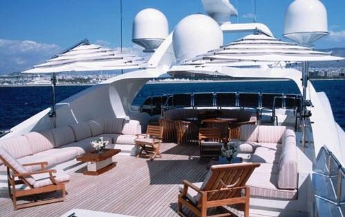 Yacht ALEXANDRA - Sundeck