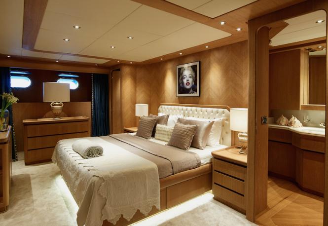 Yacht DALOLI - Master stateroom