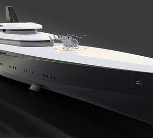 110m HEMY: Innovative Superyacht Concept by Laurent Giles