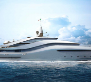 Rossinavi and Pininfarina superyacht concept to debut at the Superyacht Gallery 2017