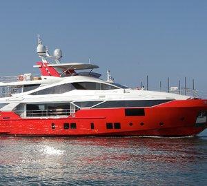 Benetti Fast 125' line superyachts Skyler and Constance Joy delivered