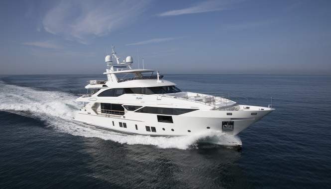 Benetti Fast 125 (BF102) - MY SKYLER. Photo credit Benetti