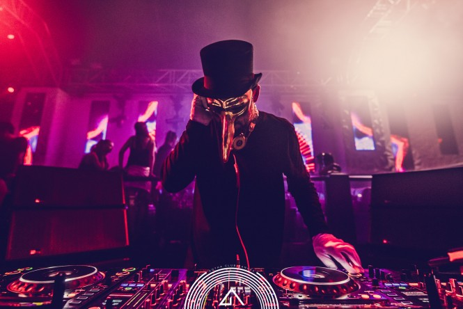 Claptone at the Gotha Club, August 2016 - Image credit Gotha Club
