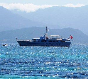 Luxury yacht Shaha ready for Western Mediterranean charter