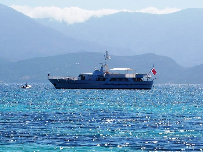 Classic motor yacht SHAHA - Built by S.N.C.B
