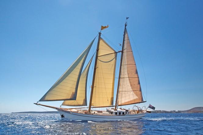 Classic sailing yacht SILVER SPRAY - Built by Scheepswerf Piet Smit