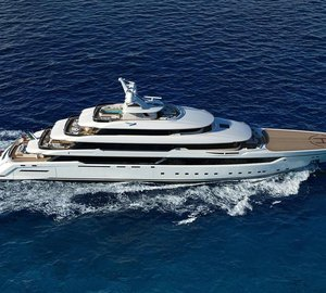 Mega Yacht Project Columbus 80m To be Completed in 2018
