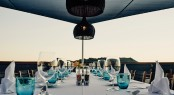 Dining al fresco in style aboard Menorca - Photo credit Mare e Terra