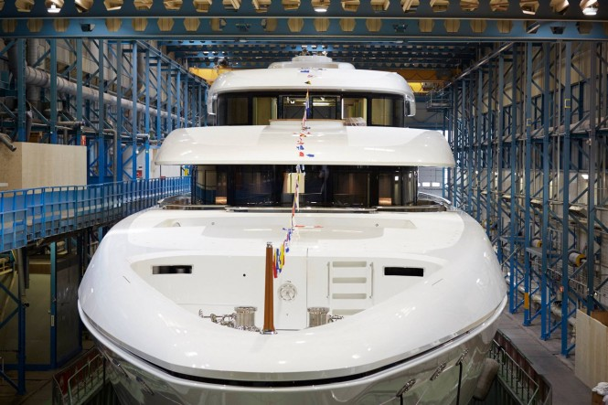 Feadship launched MY Hasna