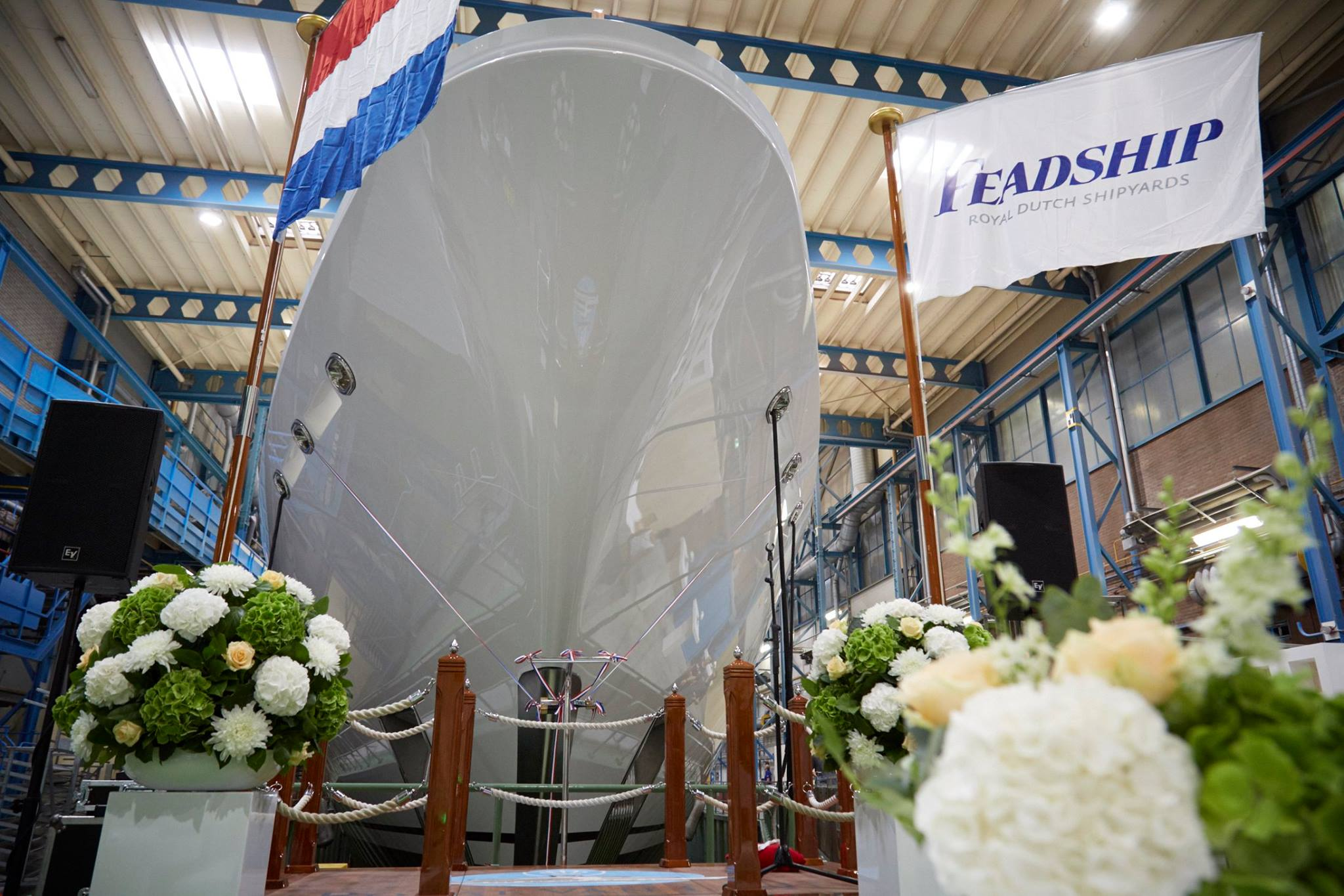 Feadship launches 73m superyacht Hasna00002