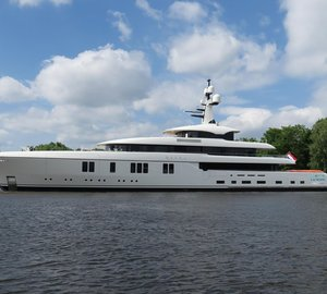 In pictures: Brand New 73m Feadship Superyacht Hasna