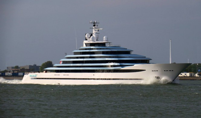 Jubilee is back from sea trials. Photo credit Dutch Yachting