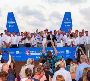 Charter yacht Lionheart declared winner of the America's Cup Superyacht Regatta and J-Class Regatta