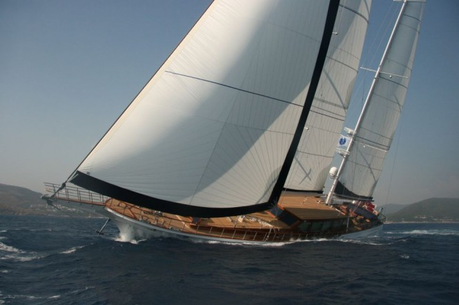 Luxury sailing yacht CLEAR EYES - Built by Pax Navi
