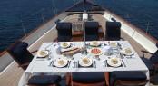 Luxury yacht ALEXA - Alfresco dining