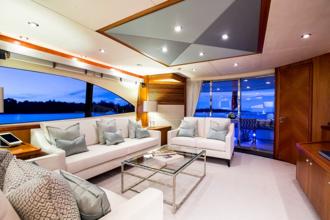 Luxury yacht BIANCINO - Salon